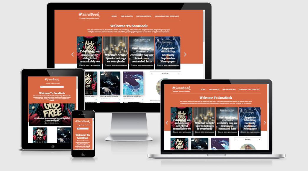 SoraBook Template - Template sách đẹp