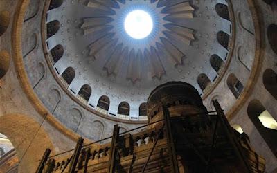 Ιεροσόλυμα: Ξεκίνησαν οι εργασίες αναστήλωσης του Παναγίου Τάφου