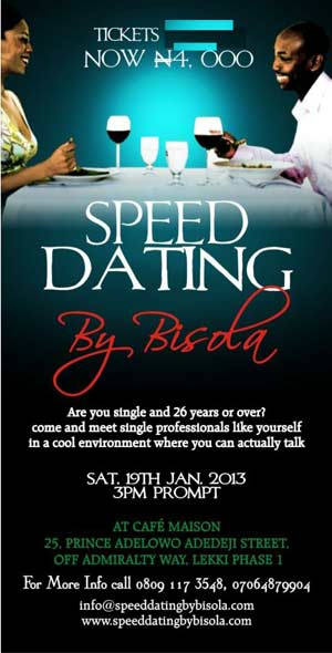 Speed dating la cafe
