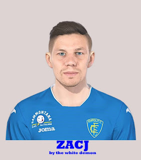 PES 2019 Faces Miha Zajc by The White Demon