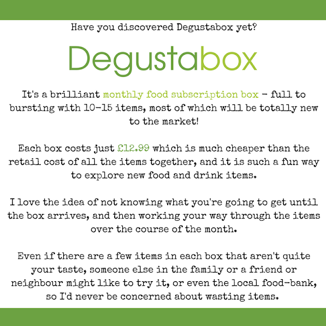 Have you tried Degustabox?