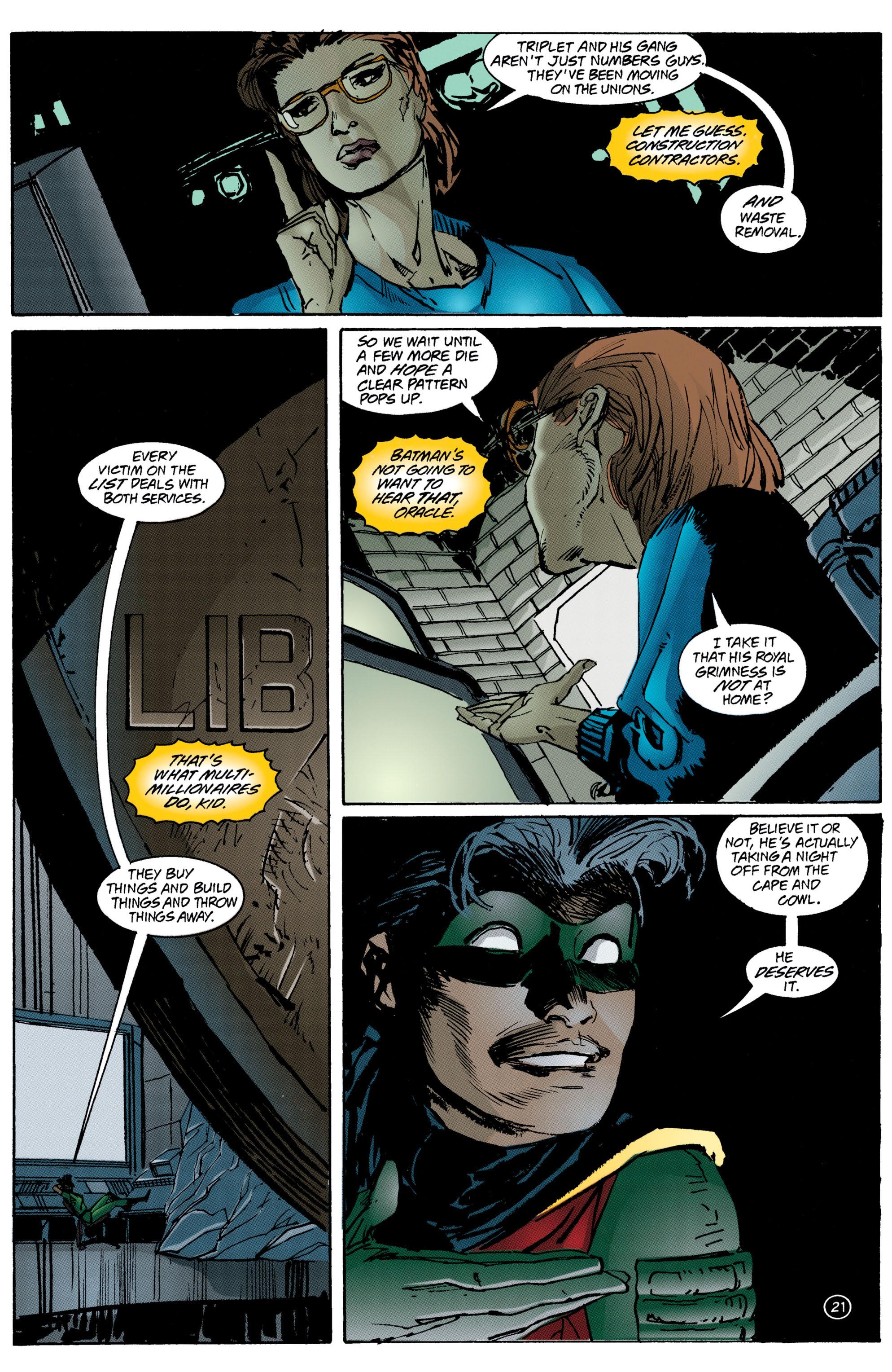 Detective Comics (1937) 708 Page 21
