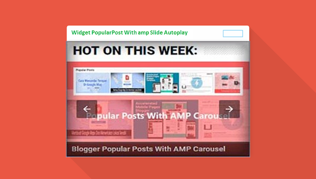 Widget PopularPost amp