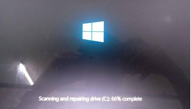 cara mengatasi windows yang berhenti logo