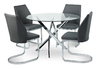 kitchen table and chairs leons