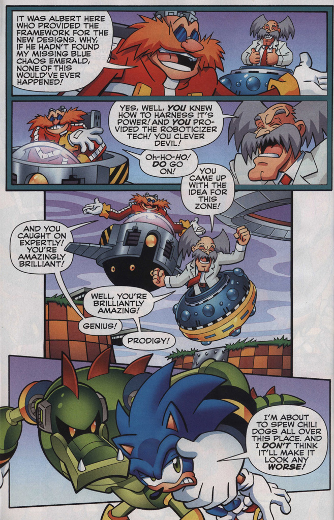 Read online Sonic The Hedgehog comic -  Issue #249 - 6