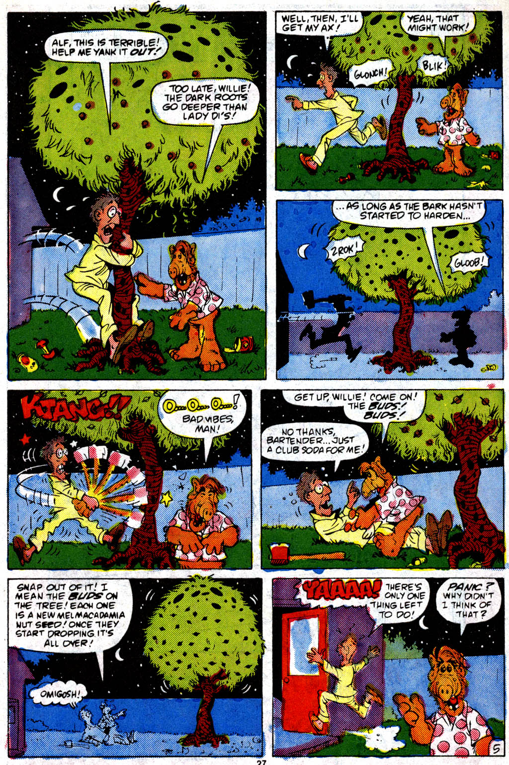Read online ALF comic -  Issue #9 - 22