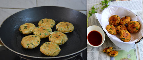 Oats cutlet-Healthy snacks for kids