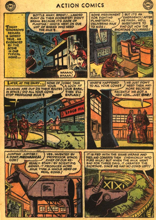 Read online Action Comics (1938) comic -  Issue #201 - 28
