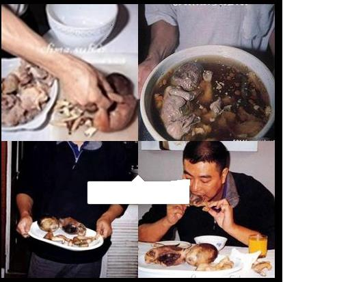 Xposure: Chinese Baby Soup, Jeeeeezuz! be careful what you ...