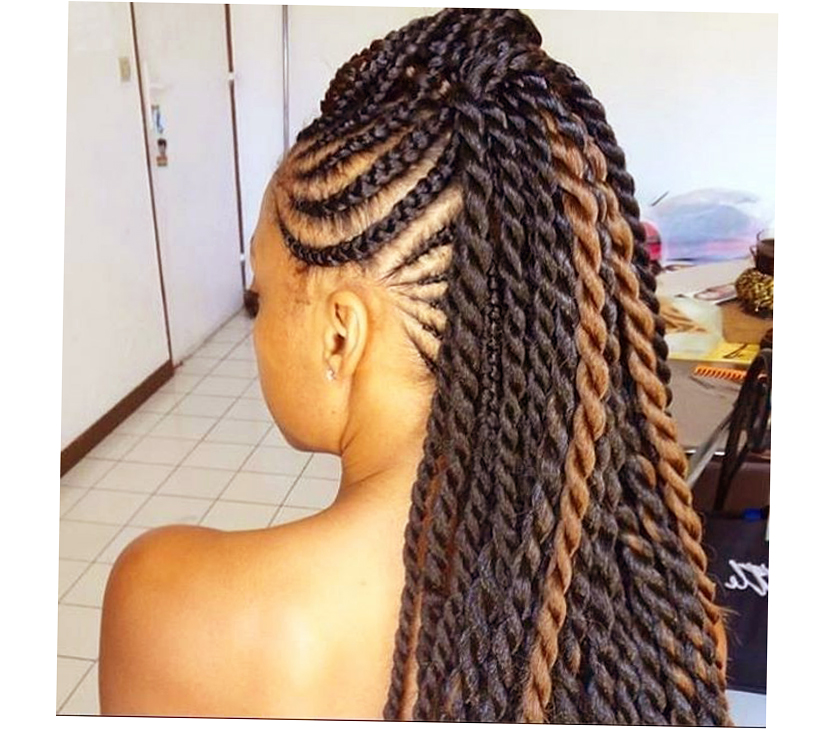 African American Braids Hairstyles 2014 Photo