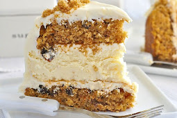 Creamy Carrot Cheesecake
