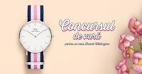 Castiga un ceas pentru femei Daniel Wellington DW00100050