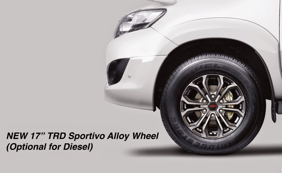 fortuner-trd alloy wheel