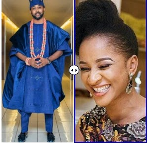 Actress Adesua Etomi Pens Down Lovely Message To Celebrate Her Hubby Banky W 37th Birthday