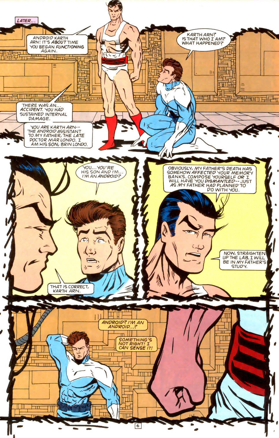 Legion of Super-Heroes (1989) 52 Page 6