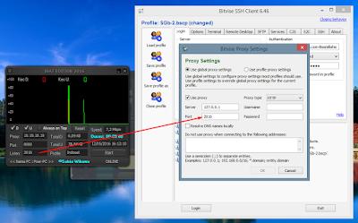 Tutorial Setting Inject dengan Bitvise SSH Client Terbaru 12