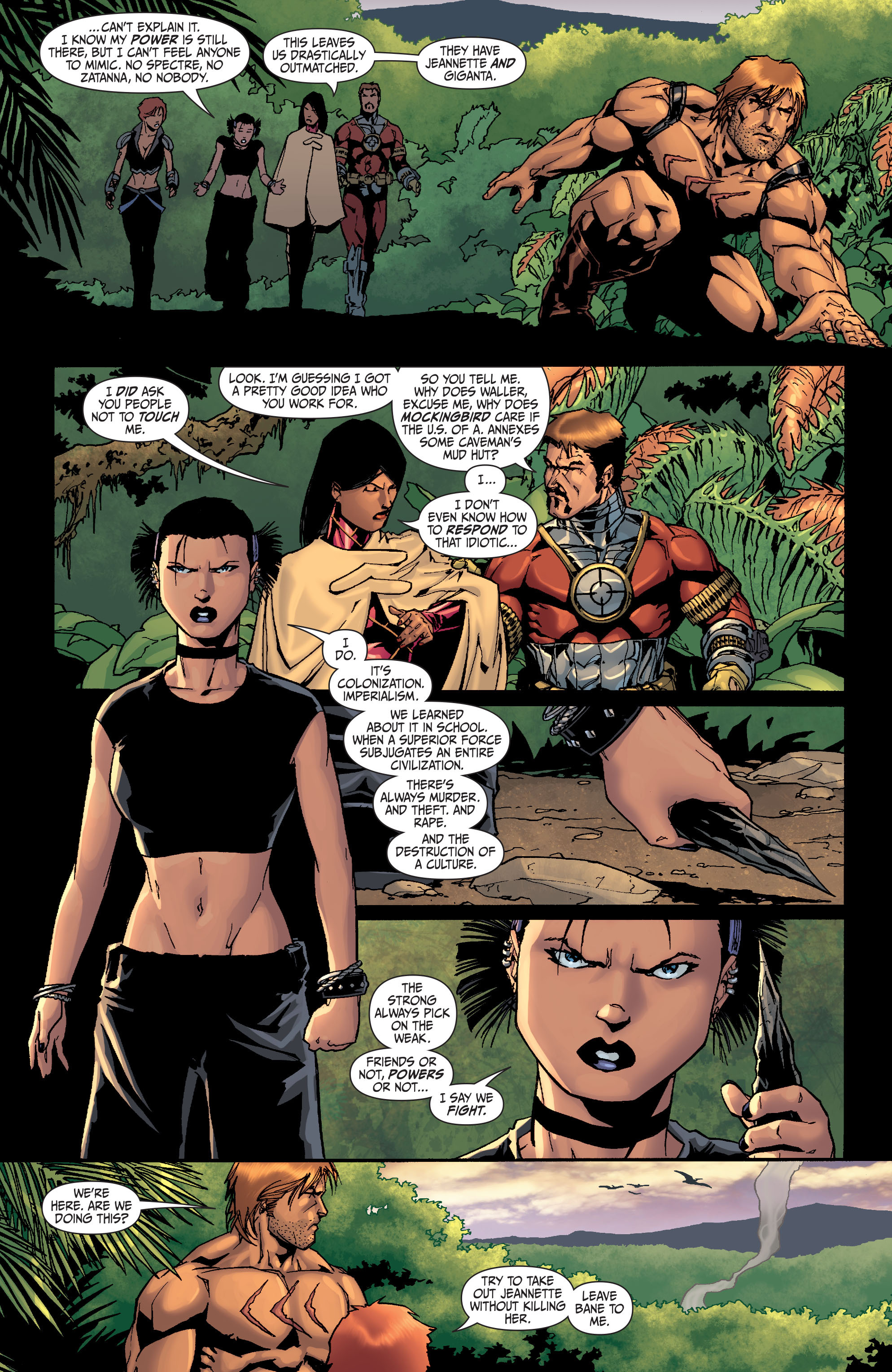 Read online Secret Six (2008) comic -  Issue #26 - 18