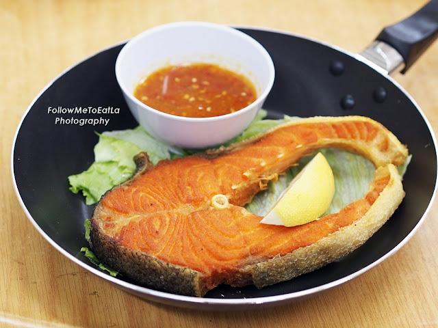 香煎三文鱼  Pan Fried Salmon