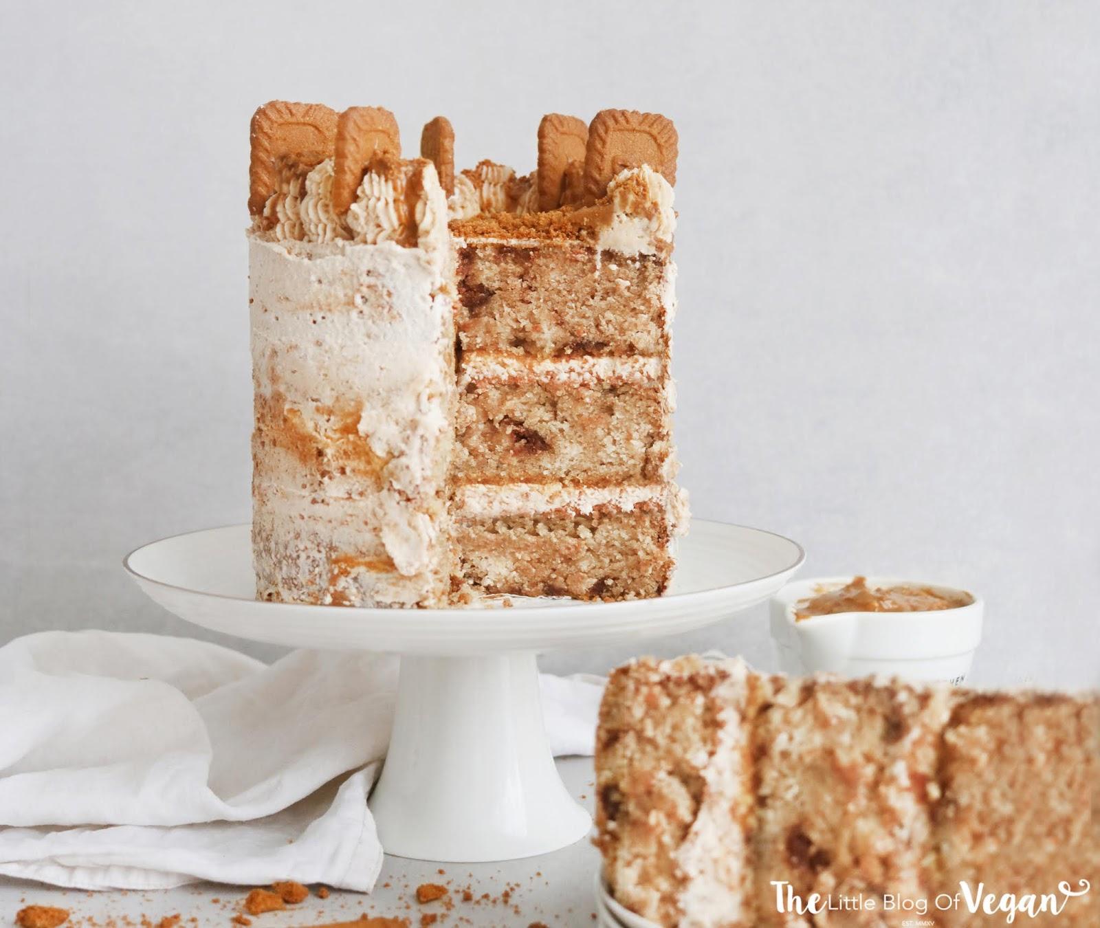 Ultimate Biscoff cake recipe