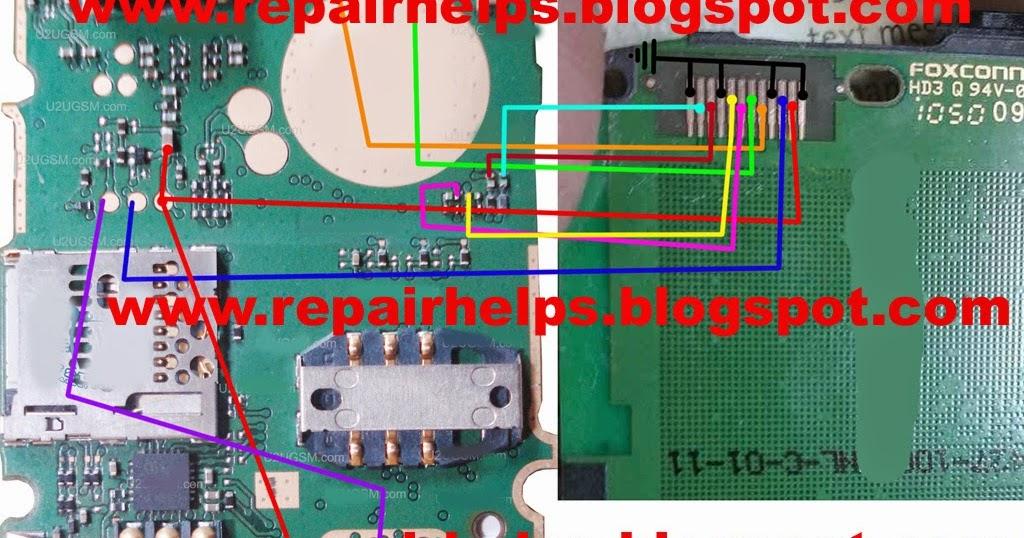Repair Helps Nokia 101 Display Problem Jumper Solution