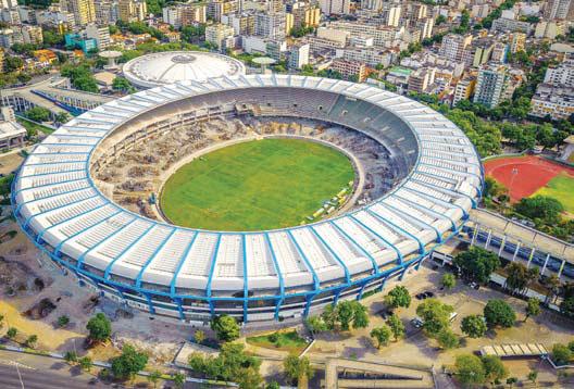 Stadion Sepakbola di Brazil
