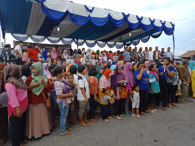 Syukuran Atas Kepemimpinan Samsul Tarigan, DPD IPK Kota Binjai Santuni Ratusan Anak Yatim