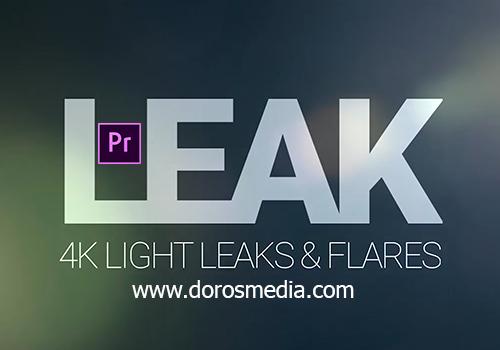 فيديوهات تسربات ضوئية إحترافية للمونتاج للادوبي بريمير والافترافكت LEAK – Light Leaks and Flares
