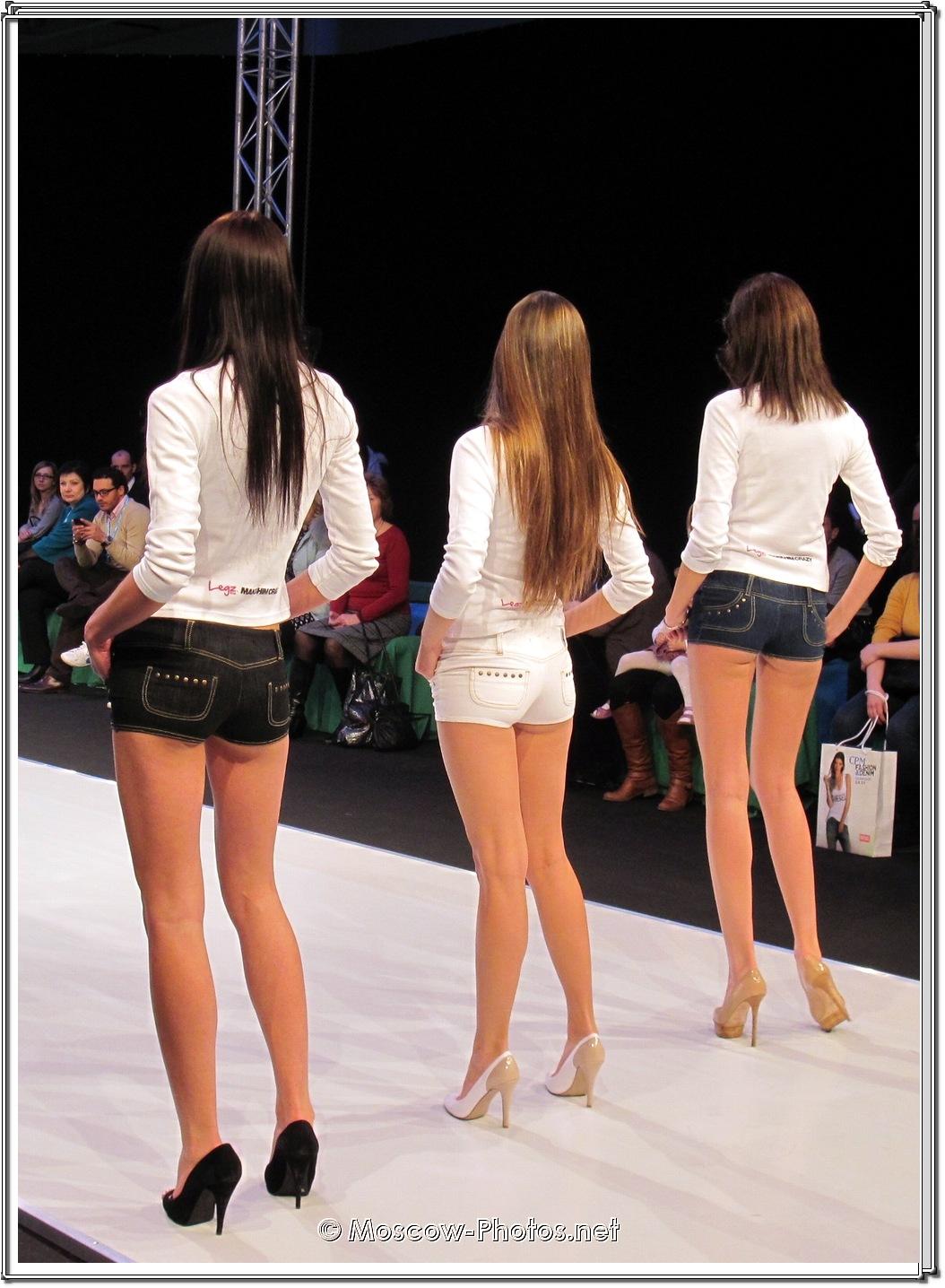 Long Legs Girls In Mini Shorts