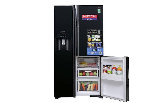 Hướng dẫn sử dụng tủ lạnh HITACHI R-M700GPGV2X 584 lít Full