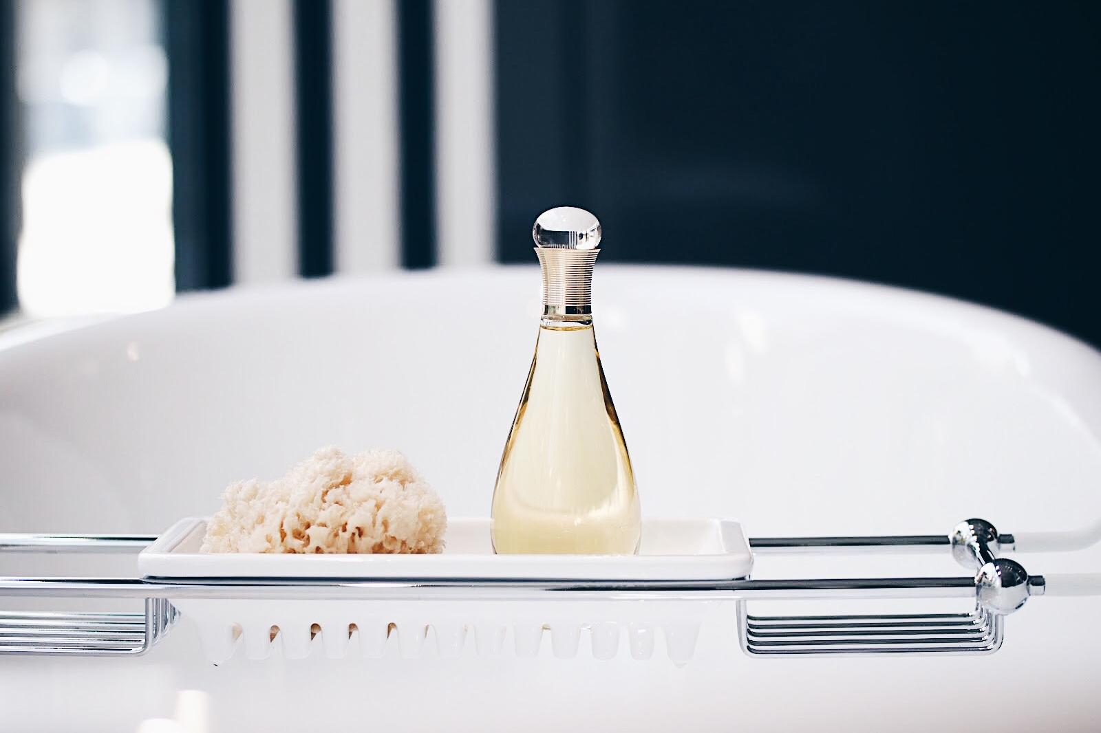 dior j'adore huile de bain avis test