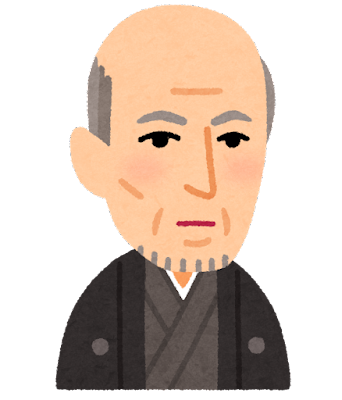 斎藤一の似顔絵イラスト