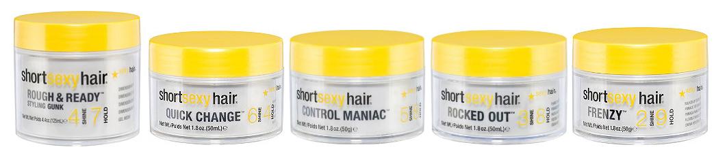 shatter short sexy hair spray