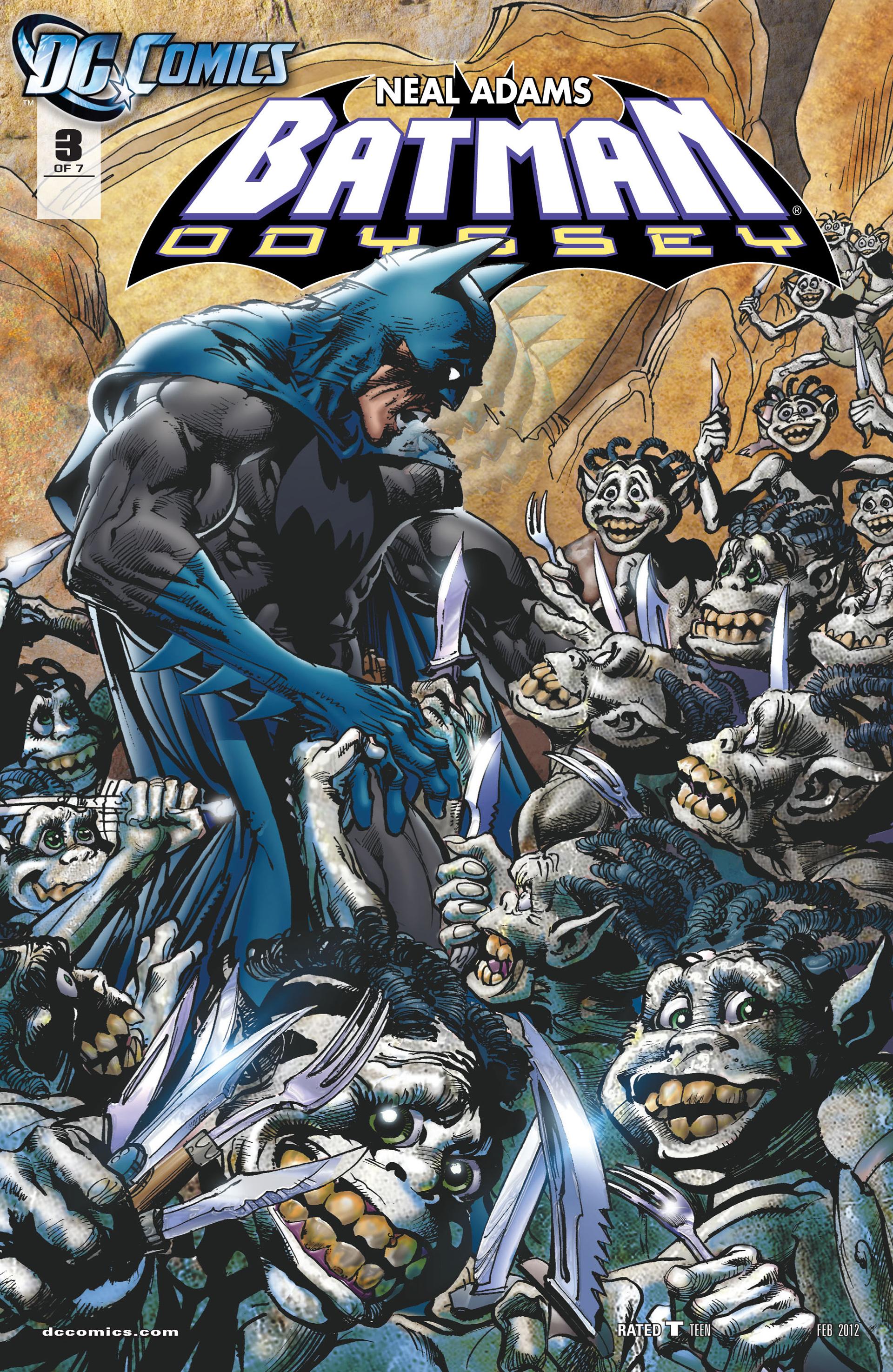 Batman: Odyssey (2011) 3 Page 1