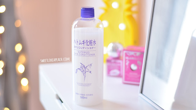 Review Hatomugi Skin Conditioner
