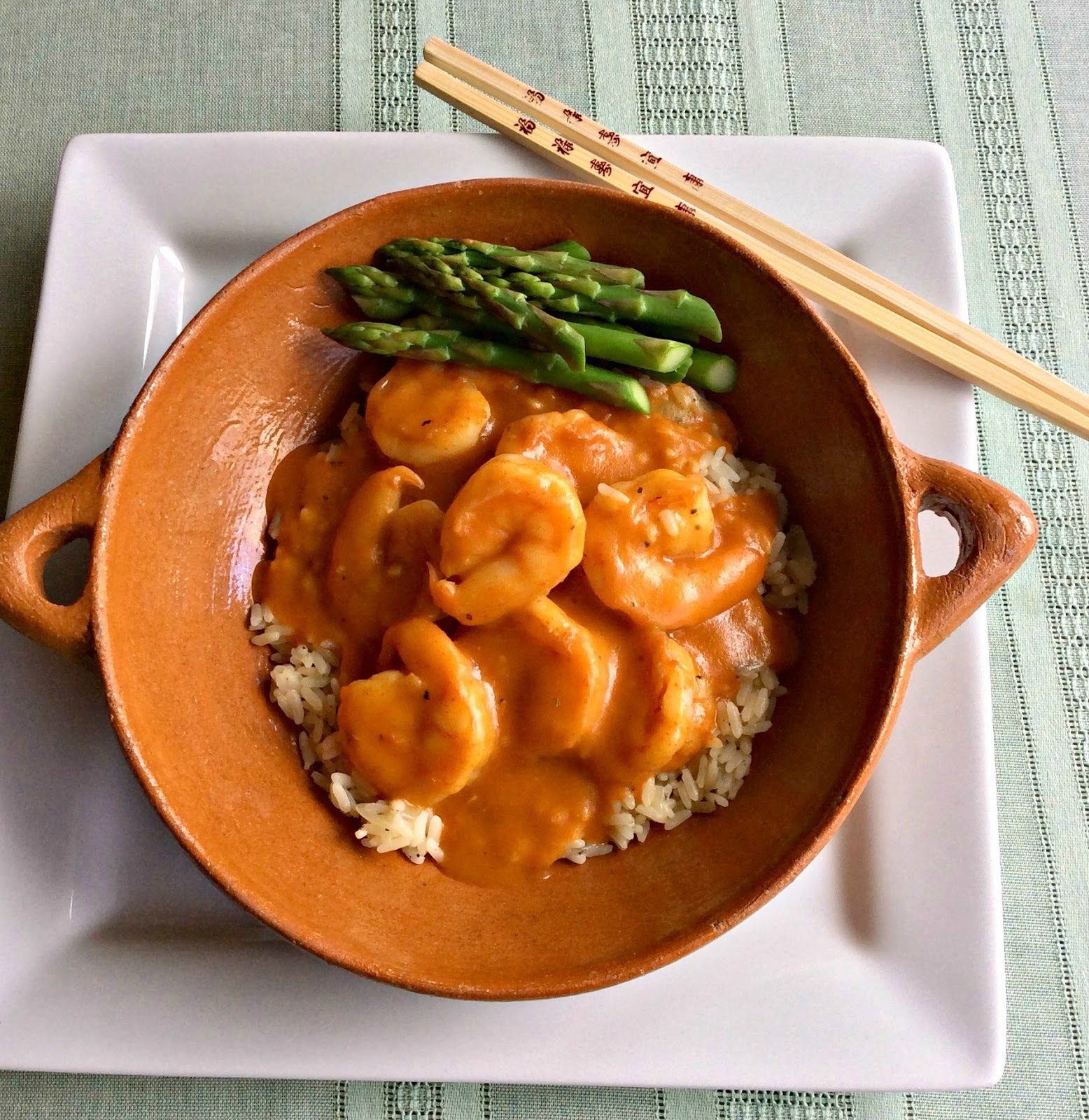 Cooking On A Budget: Easy Red Thai Curry Shrimp