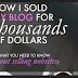 Sukses Menjual Blog Secara Cepat dan Mudah