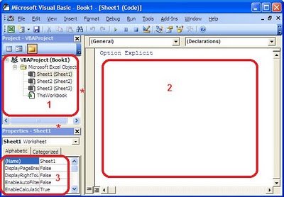 Visual Basic, VBE
