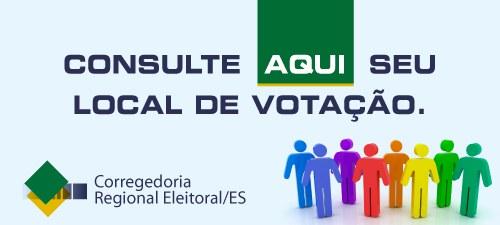 ►local de votação/consulta por nome / ES - 2016 ◄ (primeiro turno)