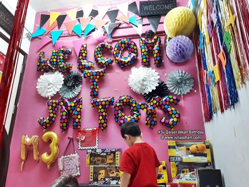 Kedai Jual Dekorasi Party Birthday Murah di Kuala Lumpur