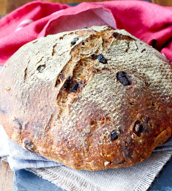 This fig and walnut bread is so delicious toasted and buttered for breakfast. It also makes incredible grilled cheese sandwiches.