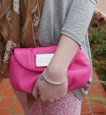 Away From the Blue Accessories Tiffany bracelets Marc by Marc Jacobs blossom pink Karlie clutch