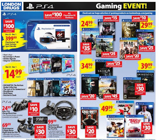 London Drugs weekly flyer November 24 - December 6, 2017