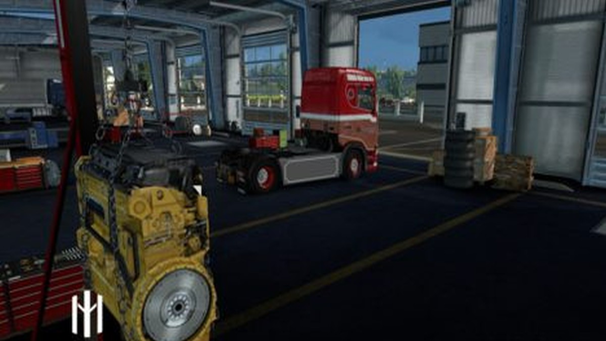 Ronny Ceusters Skin for Scania S