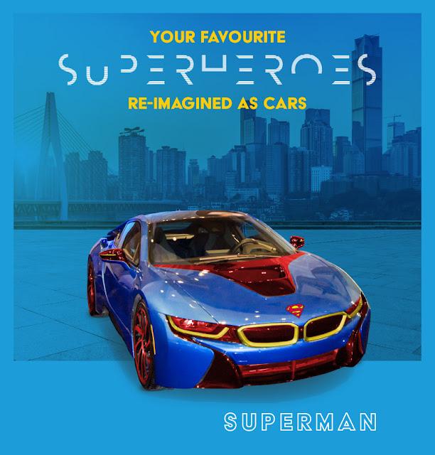 Superman - BMW i8