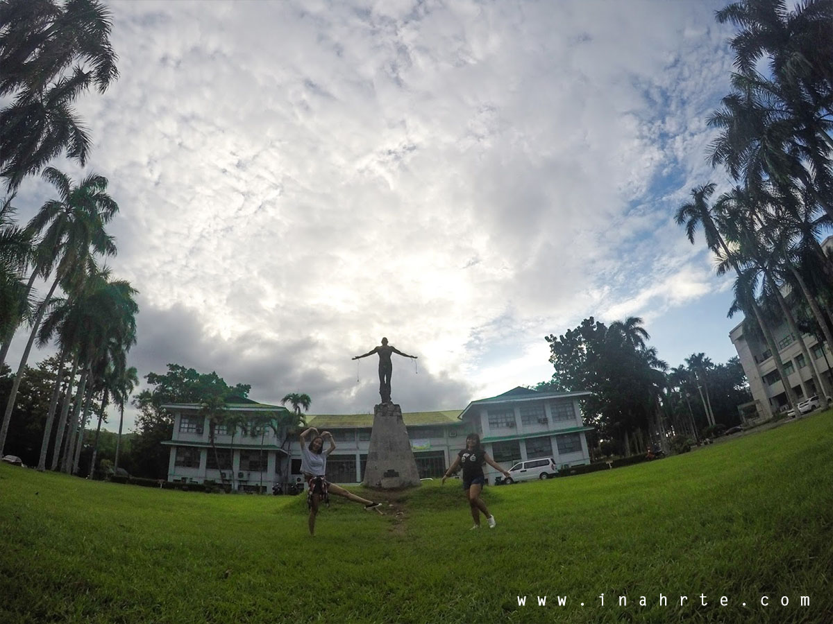 Oblation Park, UP Los Banos