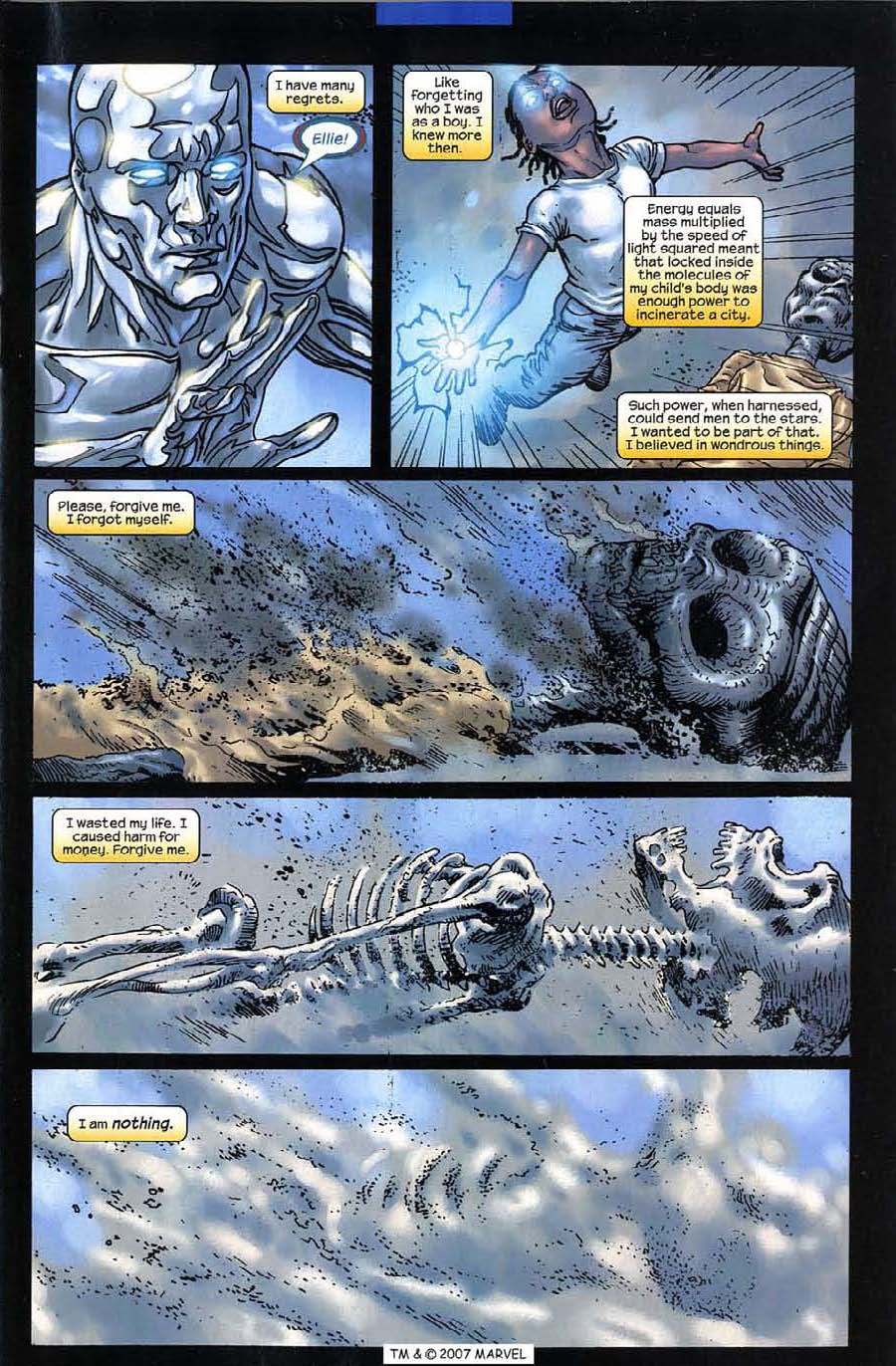 Read online Silver Surfer (2003) comic -  Issue #12 - 5