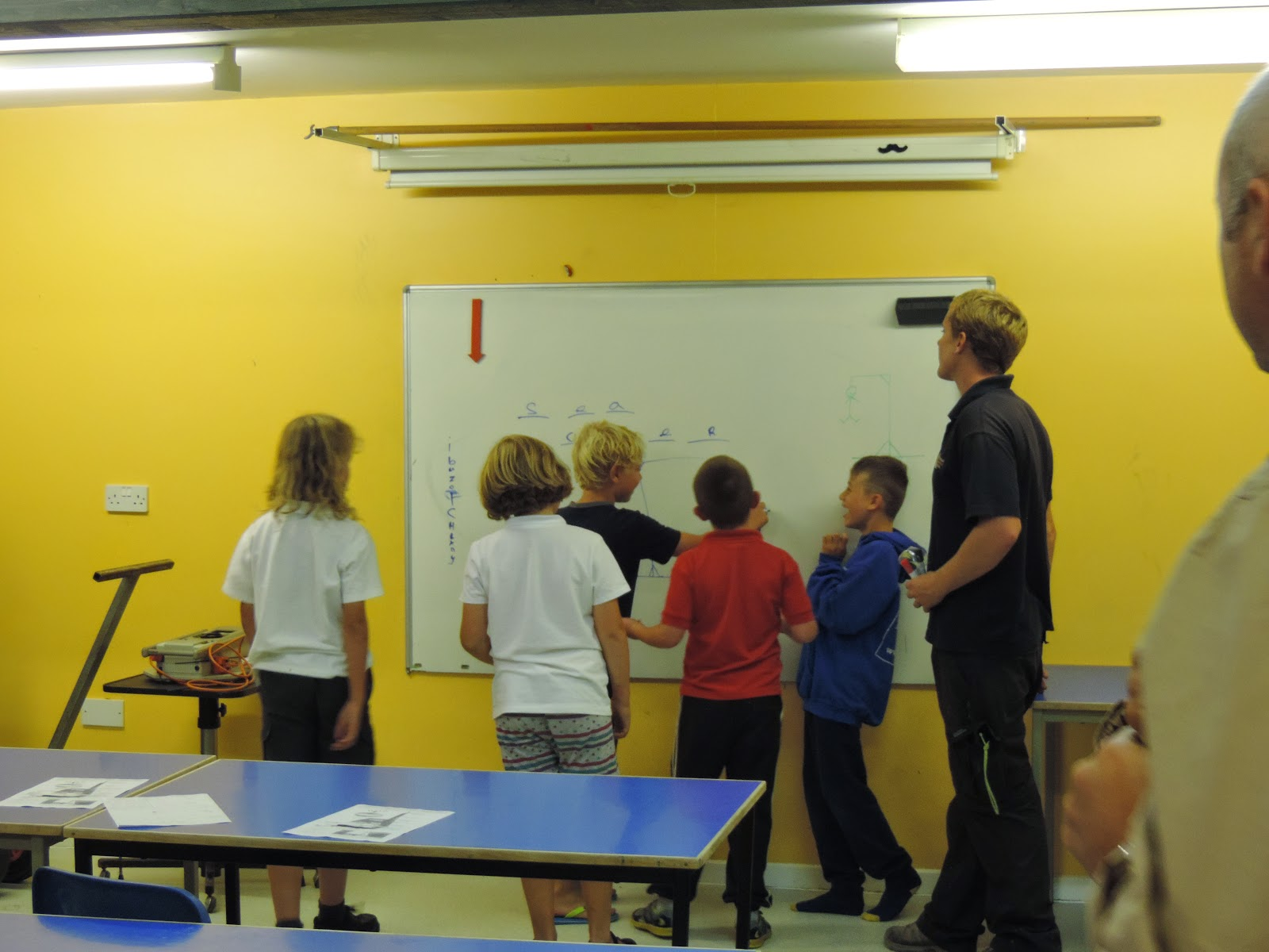 tutorial classroom at portsmouth watersports centre