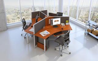 Arkadia solusi furniture modern kantor