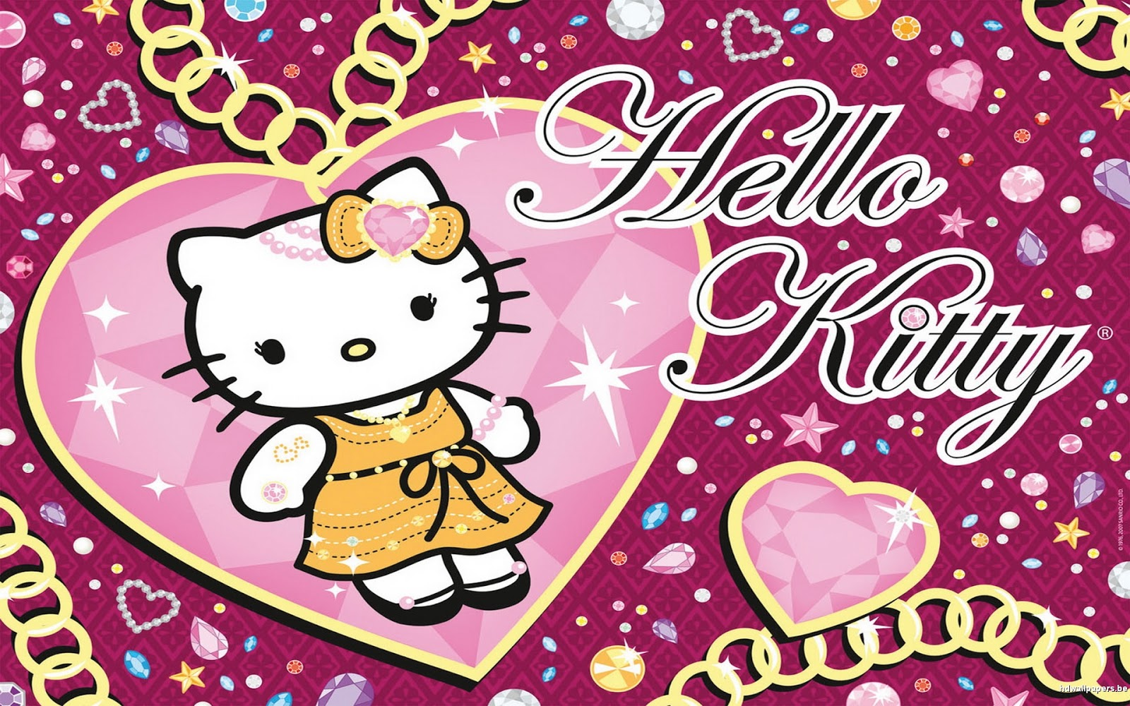 Wallpaper Atau DP BBM Hello Kitty HD Khusus Android 2015